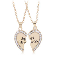 Best Friends Friendship Necklace