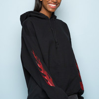 Christy Flames Hoodie - Just In