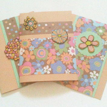 Three Cards Any Occasion Beige, Multicolor