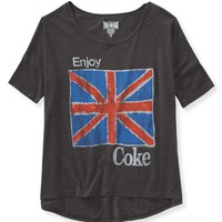 Coke® London Hi-Lo Graphic T - Aeropostale