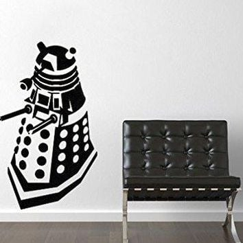 Dr. Who Inspired Dalek Wall Decal Sticker