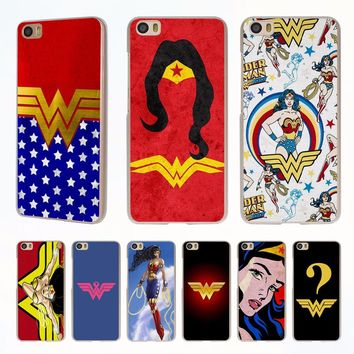 Wonder Woman Costume Colors style clear phone shell Case for Redmi 3s 4x 4A Note3 note4 case for Xiaomi Mi 6 5 5s