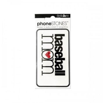 ONETOW Baseball Mom Phone Stones Sticker