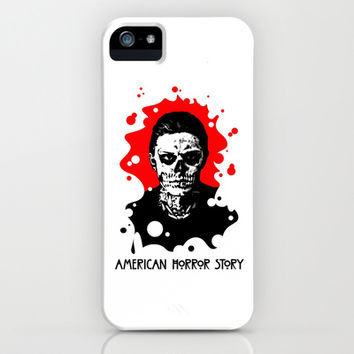 AMERICAN HORROR STORY | BLOOD SPATTER | TATE iPhone & iPod Case by Silvio Ledbetter
