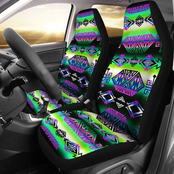 Trade Route South Set of 2 Car Seat Covers