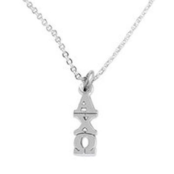 Alpha Chi Omega -Licensed Sorority Jewelry Manufacturer, Hypoallergenic Safe Necklace