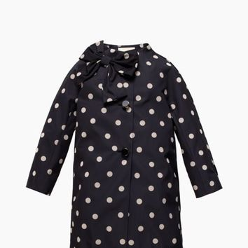 deco dot dorothy coat
