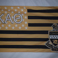 Kappa Alpha Theta US Style Fraternity Official Licensed Flag 3x5