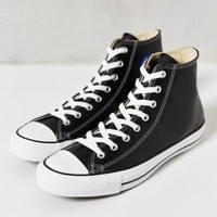 Converse Chuck Taylor All Star Leather High-Top Men's Sneaker- Black