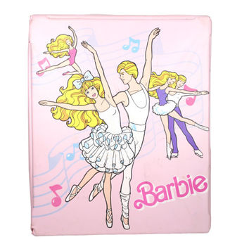 Vintage 1980s My First Barbie Ballerina Doll Case | Mattel 80s, 1988 Ballet Dancer Collectible Barbies, Dolls