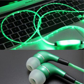 LED Glow Creative Headphones
