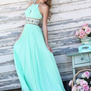 2015 new arrival Women Long Sexy Party Ball Prom Gown Formal Dress