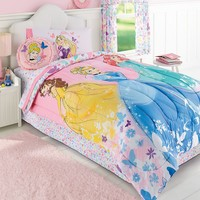 Disney Princess Reversible Comforter - Full / Queen