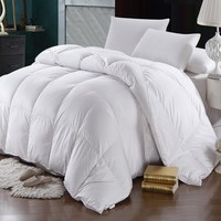 Oversized Winter Weight 600 Thread Count Goose Down Comforter by Abripedic