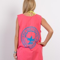 Two-Tone Logo Tank Top