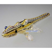 "8"" Baby Alligator Glass Pipe"