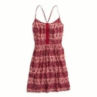 AEO FACTORY FIT & FLARE DRESS
