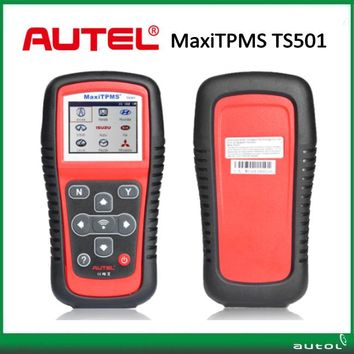 100% Original Autel MaxiTPMS TS501 TPMS Tool with OBDII Adapters for All Vehicle Tyre Pressure Monitoring System (TPMS)