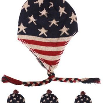 American Flag Chullo Hat - CASE OF 72
