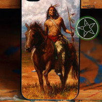 Native American - iPhone 4 / iPhone 4S / iPhone 5 / Samsung S2 / Samsung S3 / Samsung S4 Case Cover