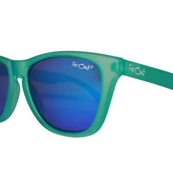 Aqua Polarized Dark Blue Lens