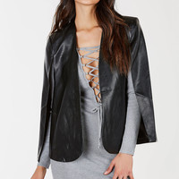 All Around Me Cape Blazer