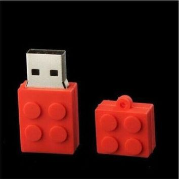 Details about  New Lovely toy bricks Model USB 2.0 Memory Stick Flash Drive 8GB U097