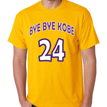Bye Bye Kobe Bryant farewell from NBA tShirt men