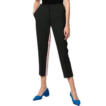 No. 21  Inner Stripe Cropped Pants