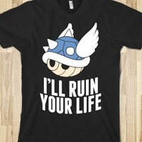 BLUE SHELL WILL RUIN YOUR LIFE