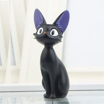 Black Cute Cat Toys Accessories Micro Landscape Ornament