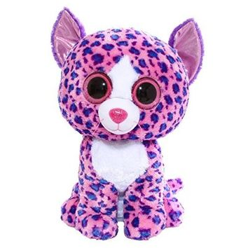 Claire's Accessories Ty Beanie Boos Large Reagan the Cat Plush Toy