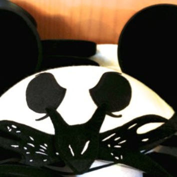 Disney Park Exclusive Jack Skellington NIghtmare NBC Mickey Mouse Ears Hat NEW