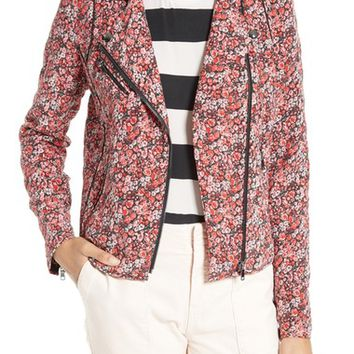 Joie Frona Quilted Floral Silk Jacket | Nordstrom