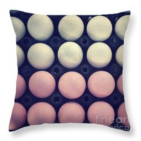 """Color eggs Throw Pillow for Sale by Ivy Ho - 16"""" x 16"""""""