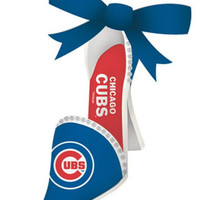Chicago Cubs High Heeled Shoe Ornament