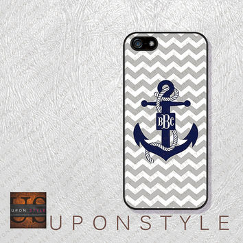 Phone Cases, iPhone 5S Case, iPhone 5 Case, iPhone 5C Case, iPhone 4 case, iPhone 4s case, Chevron Anchor, Case for iphone No-5D0013