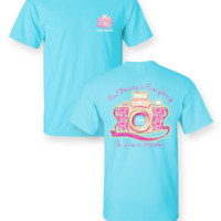 Sassy Frass Find Beauty in Everything Camera Photographer Comfort Colors Girlie Bright T Shirt