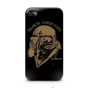 black sabbath iphone 4 4s case cover  number 1
