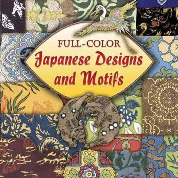 Full-color Japanese Designs And Motifs (Dover Pictorial Archive Series)