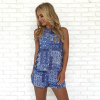 Keeping Traditions Romper