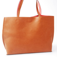 Park Avenue Tote Bag -Brown