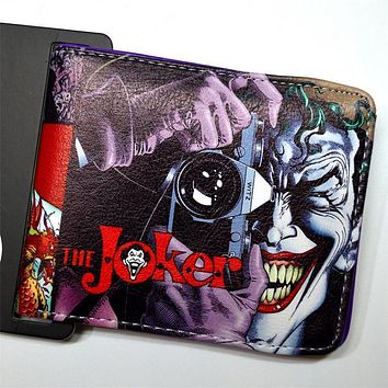 Batman Dark Knight gift Christmas Dragon Ball DC people Glanville wallet Batman Flash Simo Er Perak cats and many other styles of men and women wallet AT_71_6