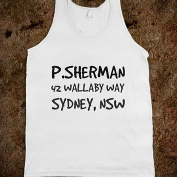 Supermarket: Nemo 42 Wallaby Way Sydney NSW Shirt from Glamfoxx Shirts