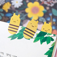 Sticky Note [ Bee ] / Bookmark / Note pad / Memo pad / Index sticky note