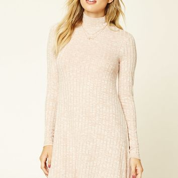 Contemporary Marled Dress