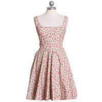 frolicking through wild flowers printed dress - $48.99 : ShopRuche.com, Vintage Inspired Clothing, Affordable Clothes, Eco friendly Fashion
