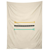 Allyson Johnson Minimal Arrows Tapestry