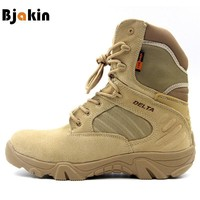 Bjakin Hiking Climbing Shoes DELTA Professional Waterproof Hiking Boots Tactical Boots