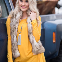 Go Ask Andrea Fancy Fur Vest